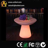 bar chair sale - 2015 hot sale rechargeable RGB color version white cove led bar furniture led table led chair