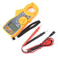 Wholesale High Quality Digital Clip on Multimeter Digital Meter Electronic LCD AC DC Tester Clamp Table Meter