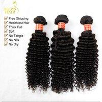 brazilian curly hair - Brazilian Deep Curly Virgin Hair Unprocessed A Brazilain Human Hair Weave Bundles Brazilian Kinky Curly Virgin Hair Weft Natural Color