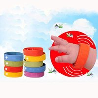 Cheap 5X Anti Mosquito Bug Repellent Wrist Band Bracelet Insect Nets Bug Lock Camping