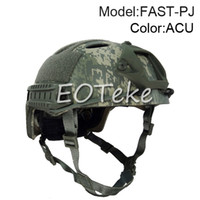 Wholesale FAST PJ MILITARY Airsoft BJ HELMET With Picatinny Wing loc ARC Rail Adapter NVG Mount tactical helmet for paratrooper