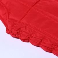 Wholesale new arrive woman down cotton vest large size thick warm autumn and winter mother causal warm inside vest coat