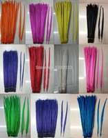 Wholesale color pheasant tail feathers cm inches pheasant feathers centerpieces wedding decorations