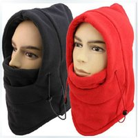 active protect - Fashion winter hat for man and woman warm head hat fleece winter face masks protected ear ski mask hats snowboard cap colors