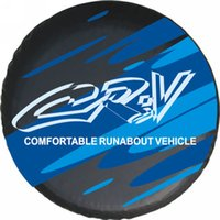 Wholesale Factory direct sales Suitable for mitsubishi to mark the spare tire cover the custom quot quot quot quot PVC spare wheel cover