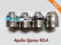 apollo system - Colorful Apollo Qorax RDA Rebuildable Atomizer Vape Clone mm Tank Vapor with airflow control post system thread DHL