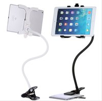 Wholesale 360 degree Flexible Arm Tablet MID Holder Stand cm Long Lazy People Bed Desktop Tablet Mount For iPad Tablet PC