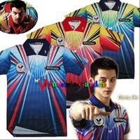 Wholesale Tenergy Butterfly NEW table tennis shirt Men Male table tennis clothes Jerseys Zhang JiKe Timo Boll game shirts