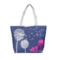 Men best beach totes - Best Deal New Fashion PC Women Canvas Handbag Shoulder Beach Bag Satchel Shopping Messenger Dandelion