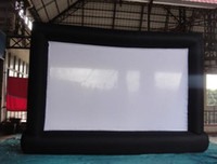 Wholesale 5 m Giant Inflatable Movie Screen Outdoor Inflatable Screen