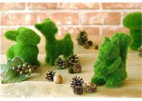 artificial gifts ideas - Cute Grass Handcraft Artificial Turf Animal Christmas Home Desk Decor Idea Gift order lt no tracking