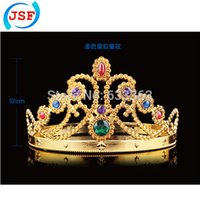 Wholesale King Queen The Crown with Natural Diamonds JSF FB1017