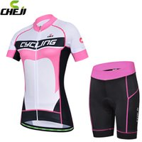 Wholesale New Cheji cycling jerseys Sets cycling clothes Outdoor Bike Bicycle Clothing for woman Breathable Short sleeve jersey S to XL
