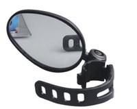 bike reflectors - 10 bicycle rearview mirror rubber strap easy quick install bike reflector mirror angles rotation