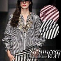 cotton fabric cloth - Wu double silk spun silk cotton dress real silk cloth material fabric navy stripes