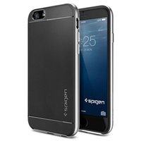 Wholesale SPIGEN SGP Tough Slim Armor Neo Hybrid Case for iPhone Plus Inch Hard Layered Rounded Edge Case Cover Shockproof Shell for iPhone6
