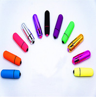 Wholesale Mini AV Bullets Wireless Waterproof Vibrating Anal Egg Female Body Massager G Spot Vibrators Sex Toys Audlt Products colors by DHL
