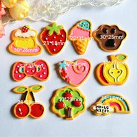 Wholesale mixes Resin Planar Cartoon Flatback Resin Cabochon for Hair Bows Decoration DIY Crafts Accessories phone case Embellishment