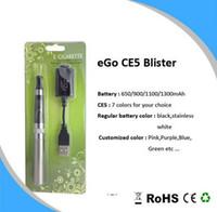 Ce5 Vaporizador y eGo t Batería de alta calidad e-cigarrillo kit de alta calidad Set tipos colores El precio al por mayor