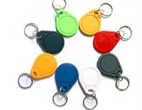 Wholesale RFID Proximity Rfid Tag Key tags Rings Khz Smart Card Blue Yellow Red