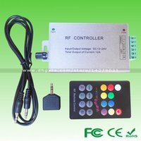 Wholesale Powerful Function DC12V W V W Aluminum LED Music DJ Popular Soft Controller for RGB SMD3528 SMD5050 LED Strip Light