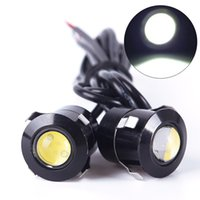 Wholesale New V W LED Eye Daytime Running Radar Eagle Eye Reverse Back up Light White