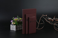 Wholesale The new hot brand high end leather imitation leather business notebook sales notebook custom