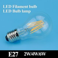 home warmer - E27 led filament bulb w w w led bulb AC100 V bulb lamp Degree lm warm white color bulbs for home indoor kitchen AC110V AC220V