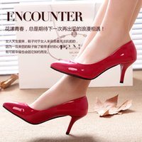 ballet flats - red bottom high heels women pumps high heel shoes woman wedding shoes fashion party sexy shoes young girl US women pumps bridal accessories