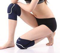 adult football pads - Knee Protector Sports Training Elastic Knee Pads basketball leg sleeve football thick sponge kneepad children adult sport wear
