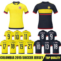 colombia - Whosales Discount Colombia Soccer Jerseys Chandal Colombia Jersey Football Shirt FALCAO JAMES RODRIGUEZ A Quality
