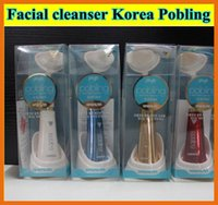 Wholesale Pobling Face Brush Eletrical Facial Cleansing Machine Facial cleanser Korea Pobling Pore Sonic Cleanser