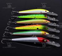 best lure for bass fishing - Best bass Artificial lures cm g hooks Plastic wobbler crankbait hard bait for fly fishing baitfish