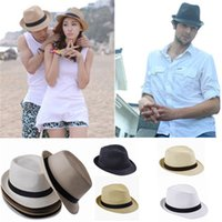 Cheap Fedoras Straw Hats Best Straw Panama Jazz Hat