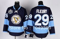 andre for men - Factory Outlet For Sale Cheap Pittsburgh Team Men Ice hockey Jersey Andre Fleury Jersey Winter Classic