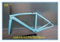 Wholesale OEM full carbon fiber bike bicycle frame bicycle UD frame with cm blue color