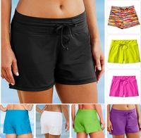 athleta s - Freeshipping Athleta Fun In The Sun Swim Short sunscreen women s loose lacing beach swimming pants spa Safety swimming trunks