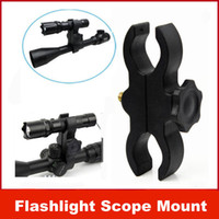 Wholesale New Barrel Mount for Flashlight Torch Telescope Sight scopes Lasers Lights gun shotgun