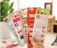 Wholesale cartoon post it stationery sticky notes self adhesive memo pad