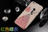 iphone 5 case - For Iphone Case Iphone Plus Case Mat PC TPU Soft embossment Cover Cases For Iphone s