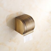 Wholesale 2015 good quality bathroom hardware Antique Brass Paper Holder BOX Holders Wall Mounted Bathroom Accessories Sanitary wares A FN5122