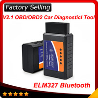 Wholesale 2016 ELM327 bluetooth ELM327 family tools V2 OBD2 ELM327 bluetooth CAN BUS Scanner