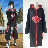 Wholesale Popular Unisex School Club Akatsuki Orochimaru uchiha madara Sasuke itachi Cosplay Clothes Costume cloak