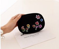 bag in box - Lady s Portable Organizer Travel Handbag Bag In Clutch Purse Insert With Pockets Storage Makeup Cosmetic Bag Cases Box