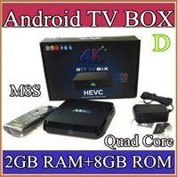 Wholesale A35 M8S K Smart TV Box Amlogic S812 Quad Core GB GB ROM XBMC Media Streamer Player IPTV Mini PC D Movie Games Sports Video AV PC DH