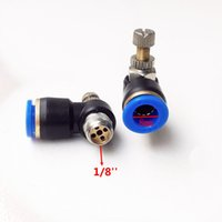 Wholesale 10pcs Pneumatic Air Fitting Throttle valve Air Speed Control SL8 mm