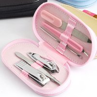Wholesale 8222C stainless steel nail clippers suit nail clippers tool set sets