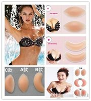 Cheap Hot New Arrivals 500Pairs Silicone Gel Bra Breast Care Treatment Enhancers Push Up Pads Pad Chicken Fillets Inserts OM-XC8