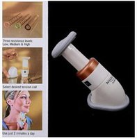 Wholesale 2015 Hot Sale Professional Portable Body Neckline Slimmer Neck Line Exerciser Thin Jaw Chin Massager Beauty Care Relaxation CCA1761