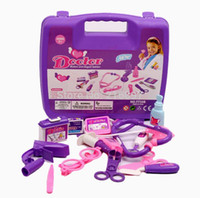 Wholesale 2015 Baby Learning Education Toys Doctor Play Tool Box Educational Brinquedos Toy